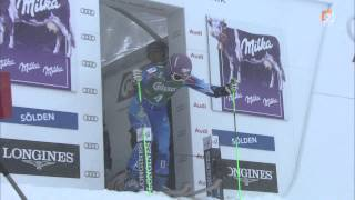 FIS SKI WORLD CUP - Giant Slalom Ladies (Solden - 27.10.2012) - Tina Maze Won