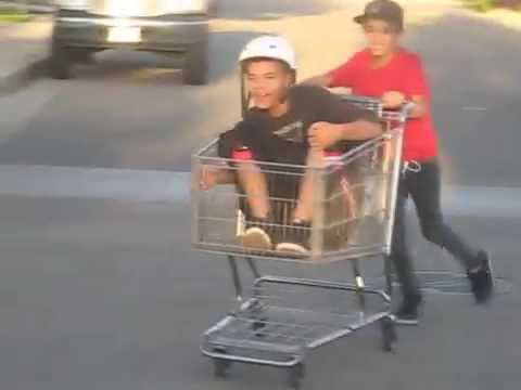 Crazy shopping cart