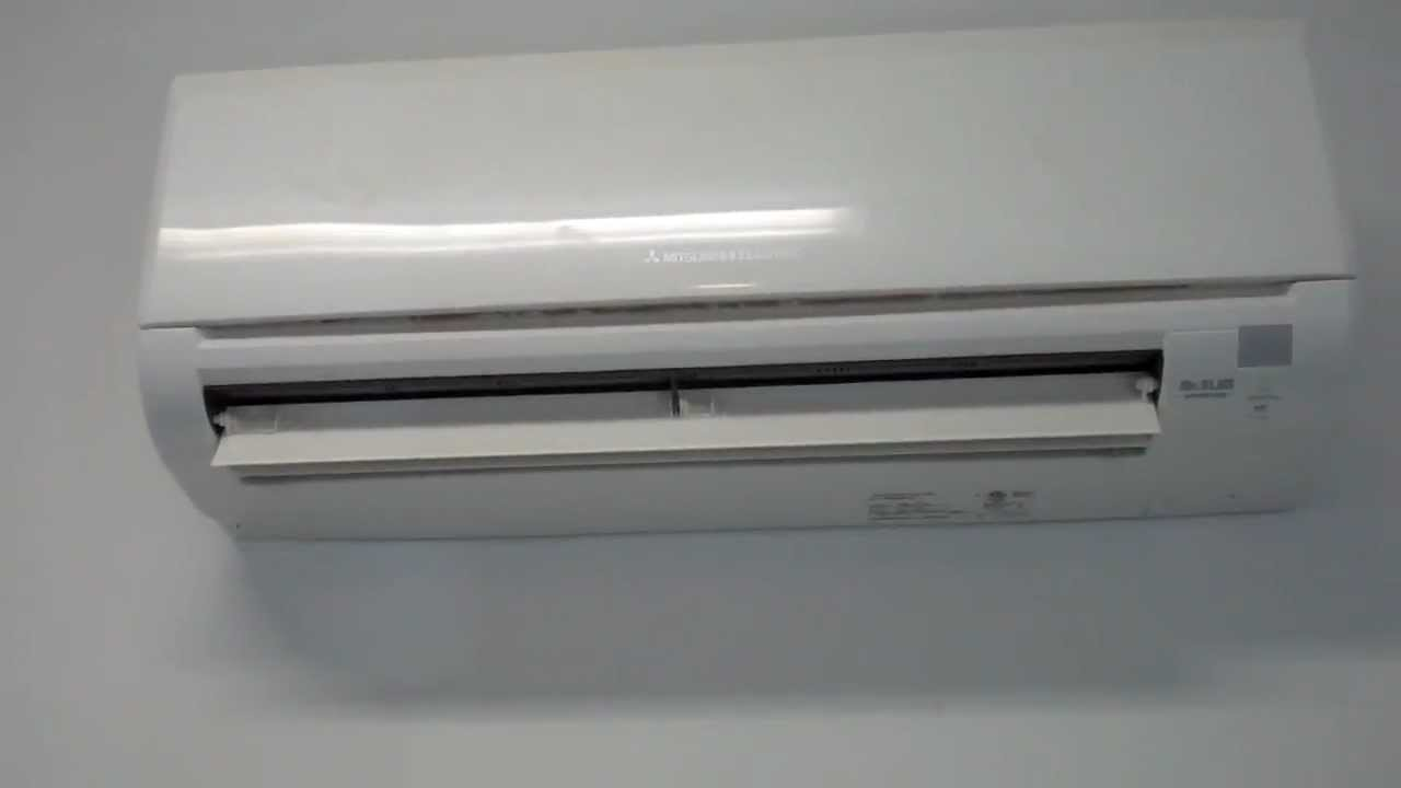 Mitsubishi Ductless Mitsubishi Ductless Mini Split Noise Level Youtube