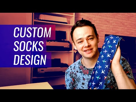 How To Create Personalized Socks.