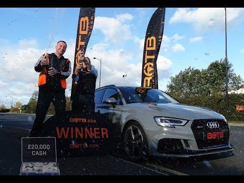 Winner! Week 41 2017 - Robert Parkinson Audi RS3 plus £20,000 cash! (Oct 9th - 15th 2017)