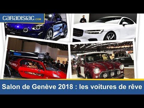 Salon de Genève 2018 : les voitures qui font rêver.