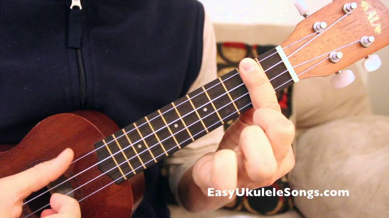 Bm7 Ukulele Chord