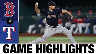 Red Sox vs. Rangers Game Highlights (4/30/21) | MLB Highlights