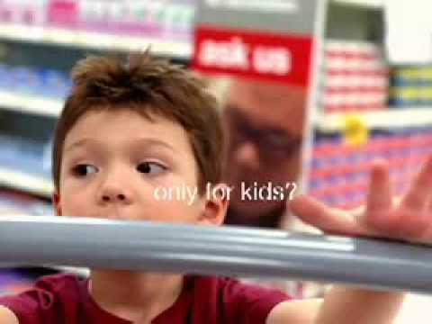 """Target """"Pink Pepto"""" Commercial 2009"""
