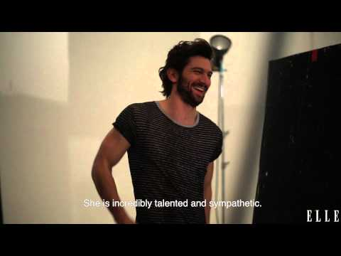 Behind the scenes with Michiel Huisman for ELLE Netherlands june 2015