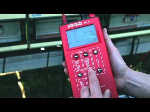 BENNING PV 1 - Photovoltaik-Installationstester (de)