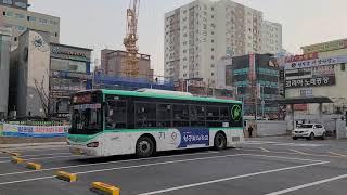 소신여객 71번버스 하이거 하이퍼스 전기버스