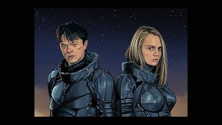 Valerian and the city of a thousand planets/ speed painting/ timelapse art by Tom ribble