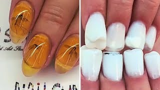 The teeth on the NAILS there are!THE craziest NAIL designs😱Strange Weird manicure ideas nail art