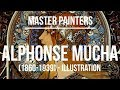 Alphonse Maria Mucha Illustration (1860-1939) 4K Ultra HD .mp4