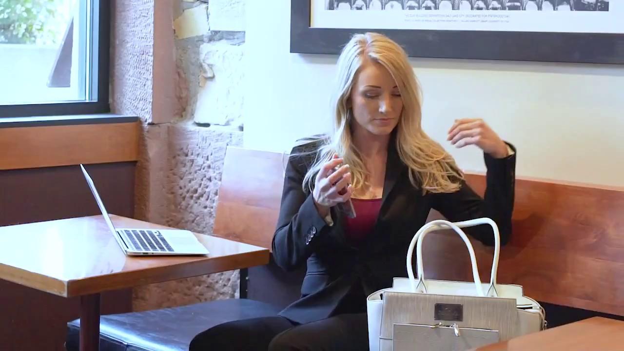 Kun adgang til tasken med fingeraftryk | Gadgets, trends og