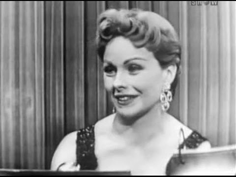 What's My Line?  Jeanne Crain May 2, 1954