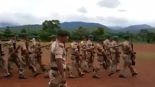 Watch: Nagaland police practice drills to the tunes of Bollywood songs