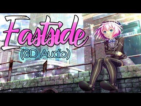 Nightcore - Eastside (8D Audio) (use Headphone🎧)