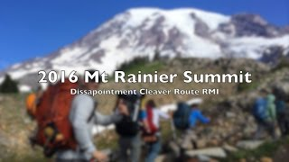 Climbing Mount Rainier, Disappointment cleaver Route