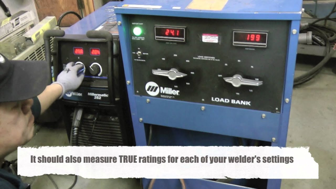 Welding Machine Calibrations - Millermatic 252