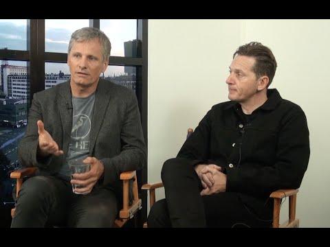 with Viggo Mortensen and Matt Ross about the film 'Captain tastic'