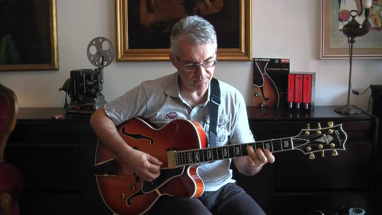 Garrison Fewell - Jazz Guitar Improvisation: part 1