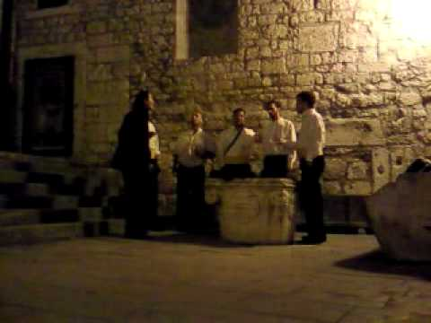 NE PITAJ ME RAZLOG MOJOJ TUZI - KLAPA BRODARICA (Šibenik, kod katedrale Sv. Jakova)