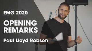 EMG 2020 Opening Remarks