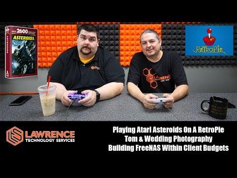 VLOG Thursday 6/15/17 Atari Asteroids, Tom & Photography, Building FreeNAS & Client Budgets