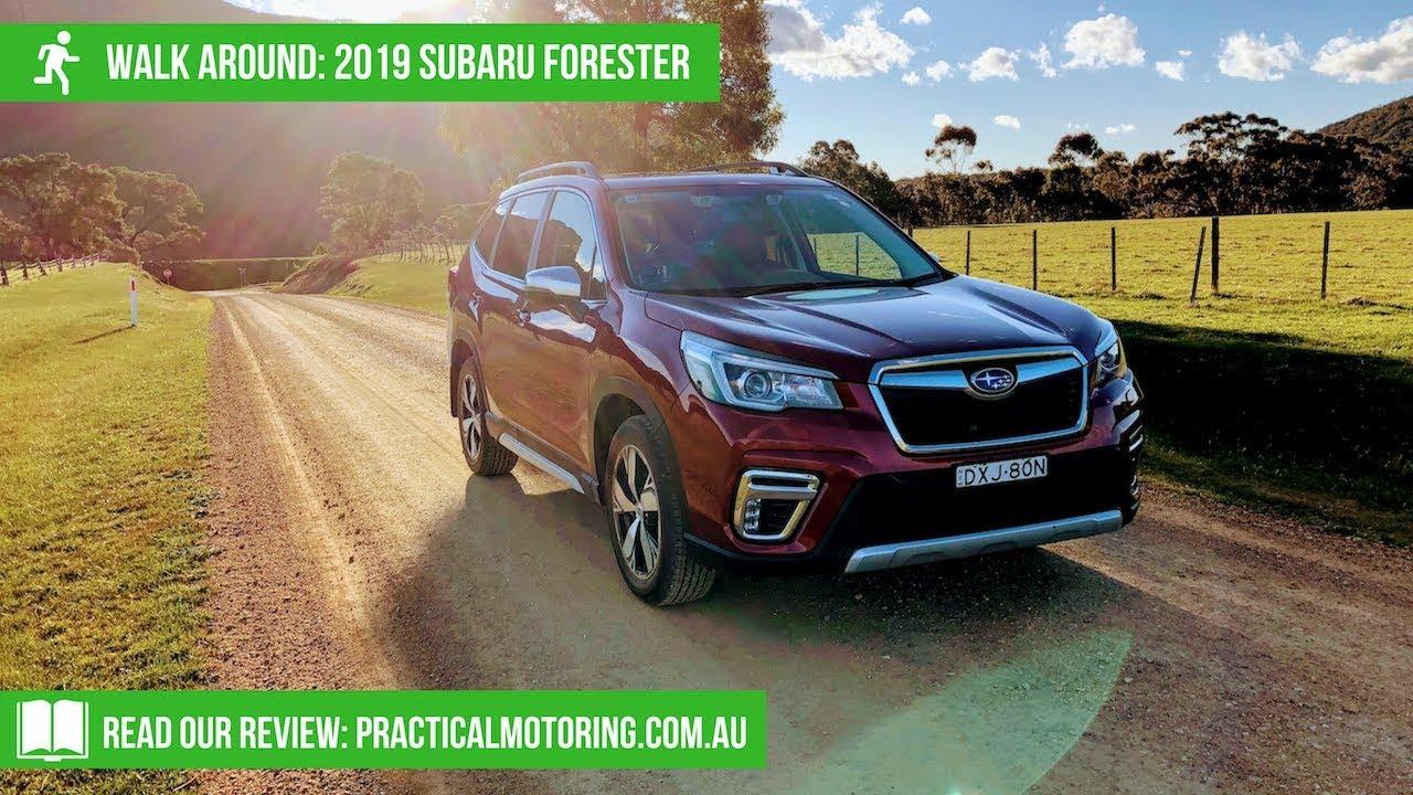 2019 Subaru Forester Walk Around Youtube