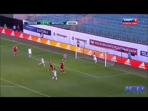 Россия Белоруссия 4:2 Товарищеский матч 7 июня 2015