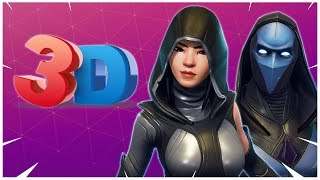 ALL *NEW SKINS* SECRET AND HIDDEN IN THE GAME 3D VIEWS!! Fortnite