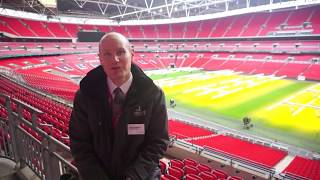 Q&A with a Wembley Stadium Tour Guide