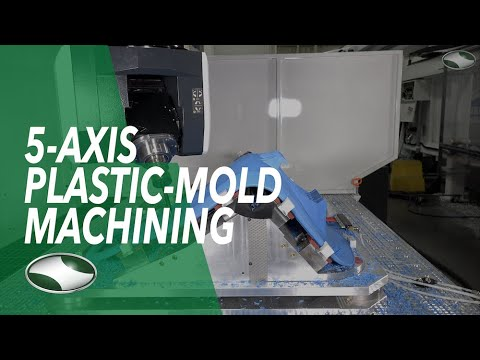 5-Axis Plastic-Mold Machining | Qube Series CNC by C.R. Onsrud
