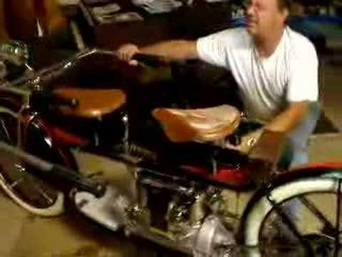 1912 henderson 4 cylinder  running Richard morris