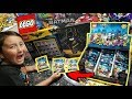OPENING A BOX FULL OF NEW LEGO BATMAN MINIFIGURE MYSTERY BLIND BAGS!! LEGO FRAME DISPLAY & SUPRISES!