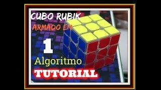 Armar el cubo de rubik 3x3 con un solo algoritmo -Edurubiks