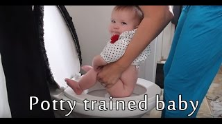 Potty Training (She Is 6 Months Old) - Babys World