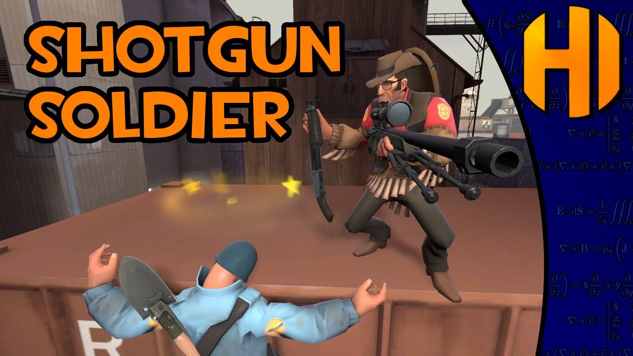 TF2 Shotgun Soldier, Market Gardens Occasionally (gameplay) - YouTube
