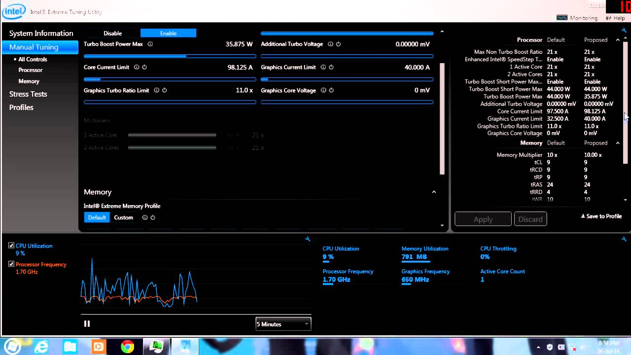 msi intel extreme tuning utility download