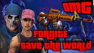 *NEW* FORTNITE SERIES SAVE THE WORLD SUNDAYS? NOOB GAMEPLAY + LIVE TRADING? (Fortnite PVE)