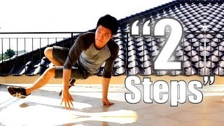 Bboy Tutorial I How to 2 Steps I Footwork Series