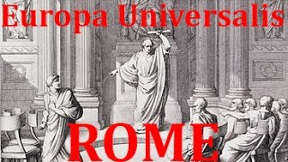 Europa Universalis Rome Tutorial: The Basics of the Interface