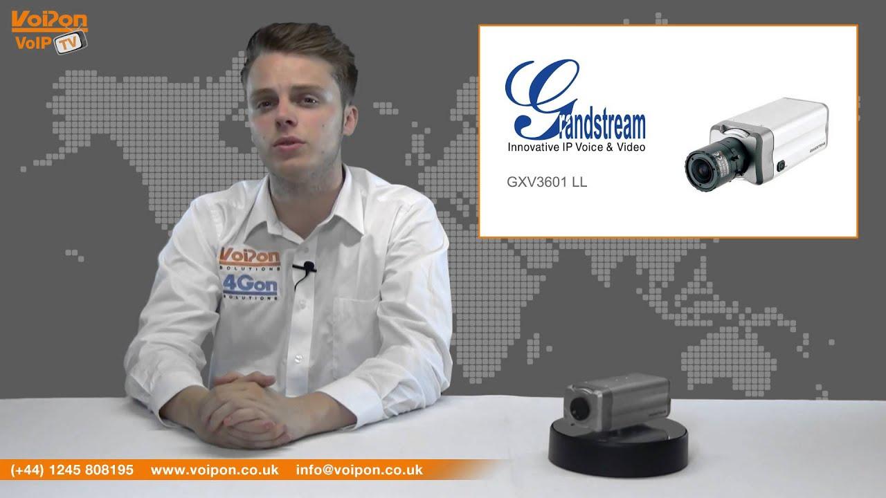 Grandstream GXV3601 IP Camera Drivers for Windows Download
