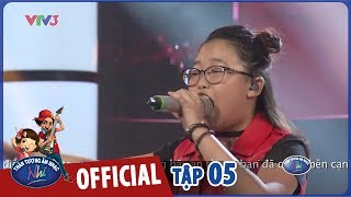 vietnam idol kids 2017- tap 5 - rolling in the deep - ha chi