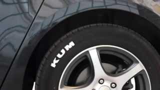 Стайлинг автомобильных шин (декор резины белым цветом)(, 2014-07-23T22:32:01.000Z)