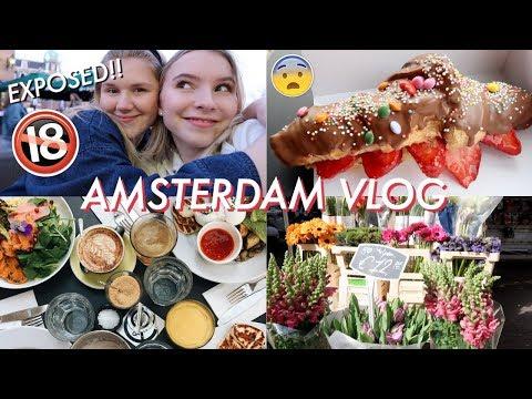 AMSTERDAM VLOG | EXPOSING MYSELF! (sorry mum and dad)