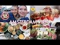 AMSTERDAM VLOG   EXPOSING MYSELF! (sorry mum and dad)