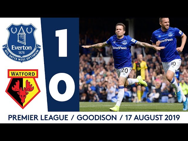 EVERTON 1-0 WATFORD | 2-MINUTE PREMIER LEAGUE HIGHLIGHTS