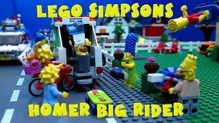 Lego® Simpsons™ Homer big rider by Magic_Bricks