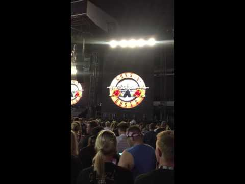 Guns N' Roses – Opening Clip – Not In This Lifetime Tour – Philadelphia, PA – 07.14.2016
