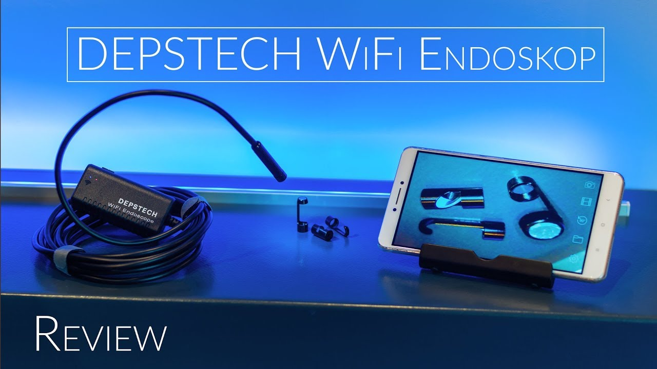 DEPSTECH WiFi Endoskop | Review