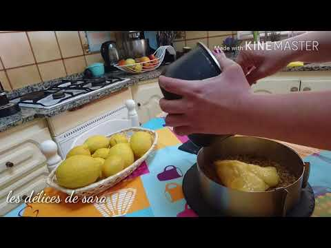 La tarte au citron 🍋 # ترتة الليمون